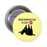 Funny Beer Pinback Buttons