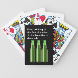Funny Beer Playing Cards
