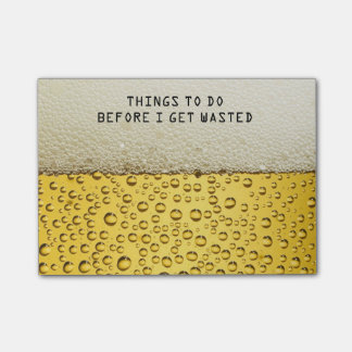 Funny Beer Post-it Post-it® Notes