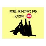 Funny Beer Postcard