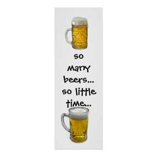 Funny Beer Poster Print - Beer Posters