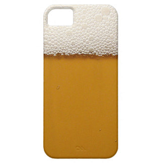 Funny Beer with Foam Printed iPhone SE/5/5s Case