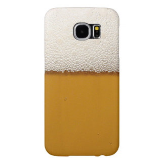 Funny Beer with Foam Printed Samsung Galaxy S6 Case