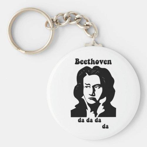 Funny Beethoven Keychain