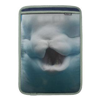 Funny Beluga Whale MacBook Sleeves