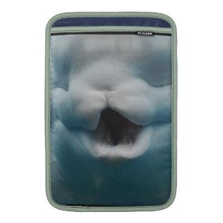 Funny Beluga Whale MacBook Air Sleeves