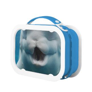 Funny Beluga Whale Lunchbox