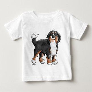 Funny Bernese Mountain Dog Cartoon Shirt