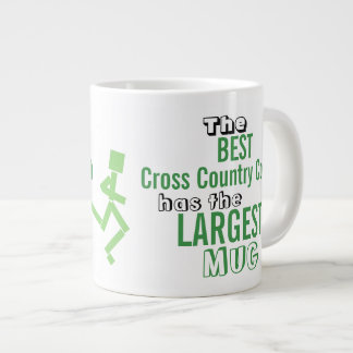 Funny Best Cross Country COACH Quote Big Mug XC