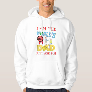 Funny Best Dad Father's Day Hoodie