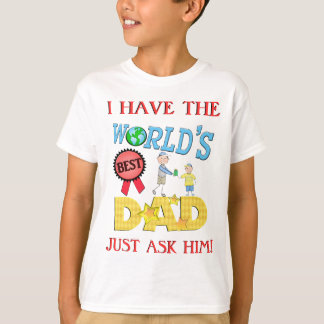 Funny Best Dad Father's Day T-Shirt