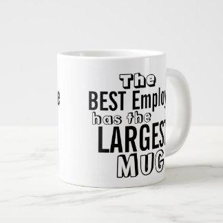 Funny Best Employee Jumbo Size Mug - Office Humor Extra Large Mugs