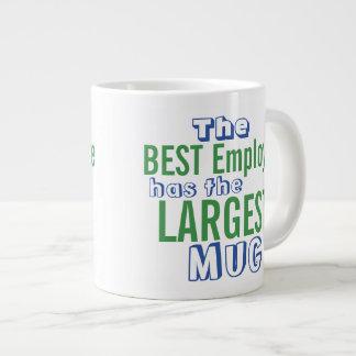 Funny Best Employee Quote Big Mug - Office Humor 20 Oz Large Ceramic Coffee Mug