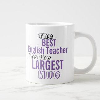 Funny Best ENGLISH TEACHER Big Mug Teaching Quote