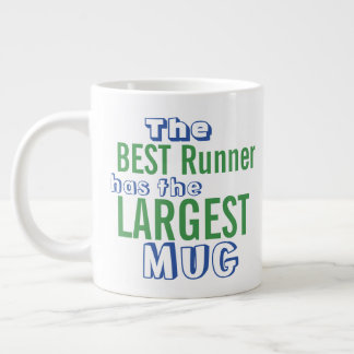Funny Best RUNNER Quote Big Mug - Running Humor
