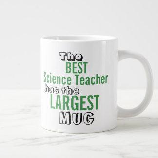 Funny Best SCIENCE TEACHER Big Mug Teaching Quote