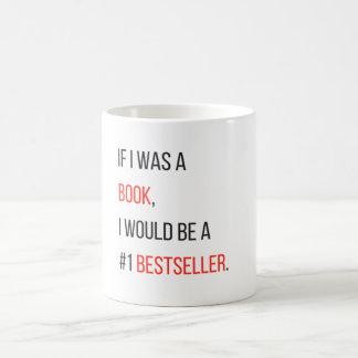 Funny Bestselling Book Mug