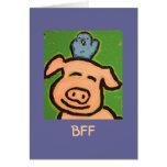 funny BFF card