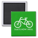 Funny bicycle magnets for bike riding fans magnet