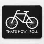 Funny bicycle mouse pad for bike riding fans