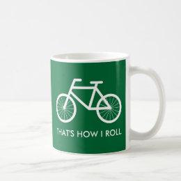 Funny bicycle mug for bike riding enthusiasts