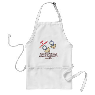 Funny Big Baby T-shirts Gifts Adult Apron