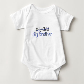 Funny Big Brother Design Baby Bodysuit