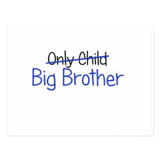 Funny Big Brother Design Postcard