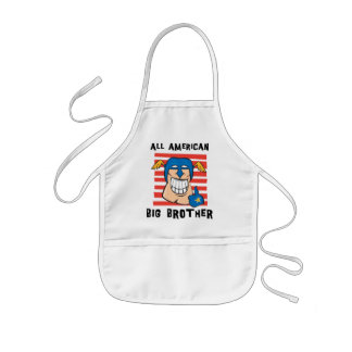 Funny Big Brother Kids' Apron