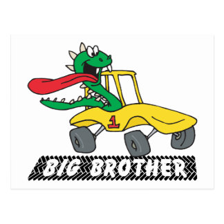 Funny Big Brother Postcard