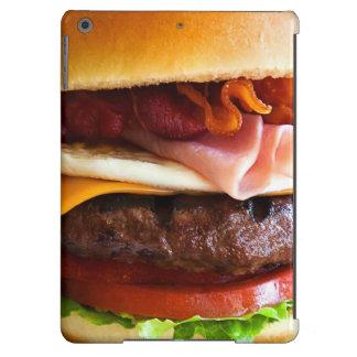 Funny big burger cover for iPad air