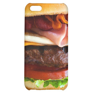 Funny big burger case for iPhone 5C