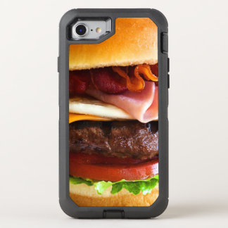 Funny big burger OtterBox defender iPhone 7 case