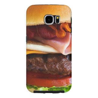 Funny big burger samsung galaxy s6 case