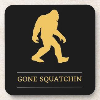 Funny Big Foot Gone Squatchin Sasquatch Coaster