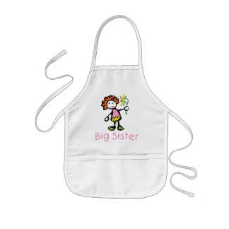 Funny Big Sister Kids' Apron