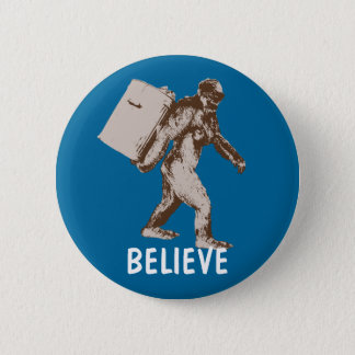 Funny Bigfoot Button