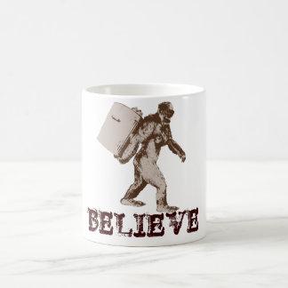 Funny Bigfoot Classic White Coffee Mug