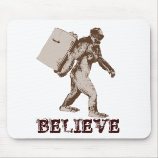 Funny Bigfoot Mouse Pad
