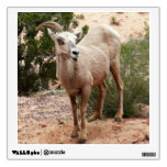 Funny Bighorn Sheep at Zion National Park Wall Sticker