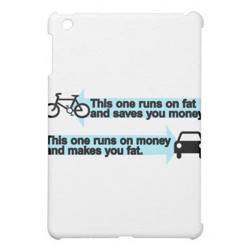 Funny Bike versus Car iPad Mini Cases