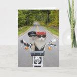 Funny Biker Cats Valentine/Anniversary Holiday Card