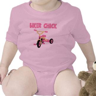 Funny Biker Chick Creeper