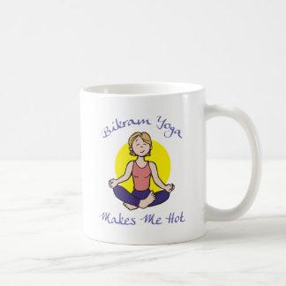 Funny Bikram Yoga Gift Classic White Coffee Mug