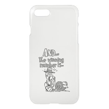 Funny Bingo Design iPhone 7 Case