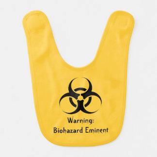 Funny biohazard Geek Stinky Baby Bib