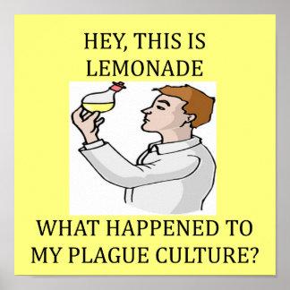 funny biology lab joke print