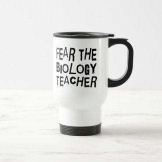 Funny Biology Teacher 15 Oz Stainless Steel Travel Mug