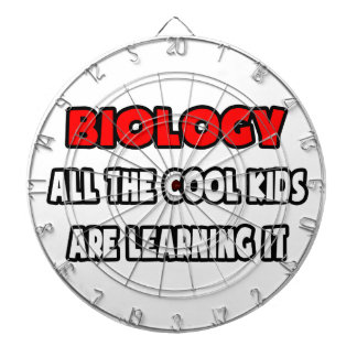 Funny Biology Teacher Shirts and Gifts Dart Board