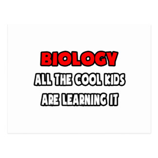 Funny Biology Teacher Shirts and Gifts Postcard